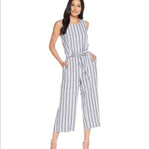 Vince Camuto - Striped Jumpsuit